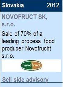 2012 NOVOFRUCT SK