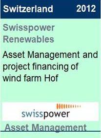 2012 Swisspower Renewables