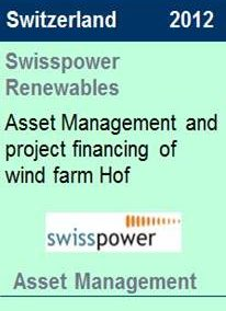 2012 Swisspower Renewables