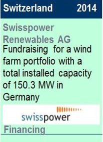 2014 Swisspower Renewables Financing