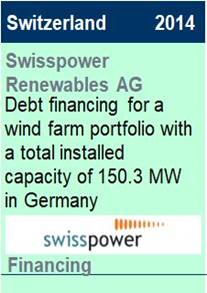 2014 Swisspower Debt Financing
