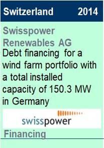 2014 Swisspower Debt Financing