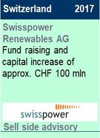 2017 Swisspower Renewables AG