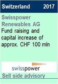 2017 Swisspower Renewables AG